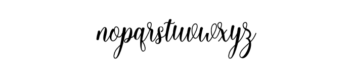Hello Falisha Font LOWERCASE