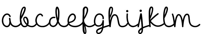 Hello Heartache Font LOWERCASE