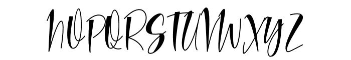 Hello Lovea Font UPPERCASE