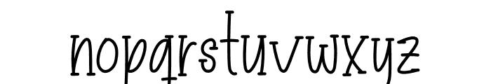 Hello Mellow Font LOWERCASE