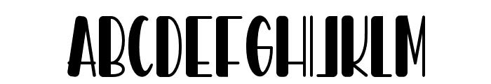 Hello Pablo Font LOWERCASE