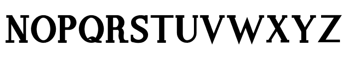 Hello World Sans Srf Bold Font UPPERCASE