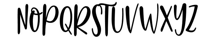 HelloBluebirdSans Font UPPERCASE