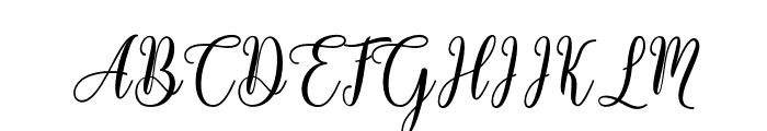 HelloFalisha Font UPPERCASE