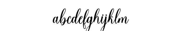 HelloFalisha Font LOWERCASE