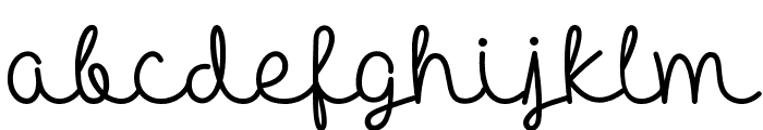 HelloHeartache Font LOWERCASE