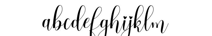 HelloJasmine Font LOWERCASE