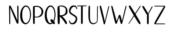 HelloStar Font LOWERCASE