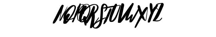 HelloStockholm-Alt Font UPPERCASE