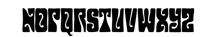 HendrixGroove Font UPPERCASE