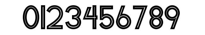 HeneraleOutline Font OTHER CHARS