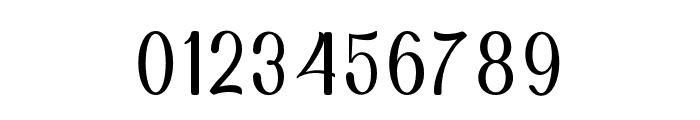 Hening script Regular Font OTHER CHARS
