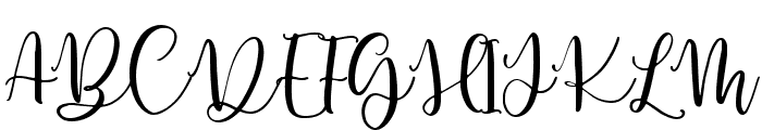 Herbal Infusion Regular Font UPPERCASE