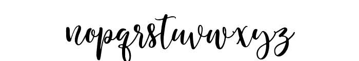 Herbal Infusion Regular Font LOWERCASE