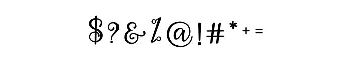 Hey Shanaya Font OTHER CHARS