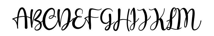 Hey Shanaya Font UPPERCASE