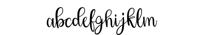 Hey Shanaya Font LOWERCASE