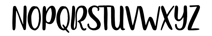 Heylolly Font UPPERCASE