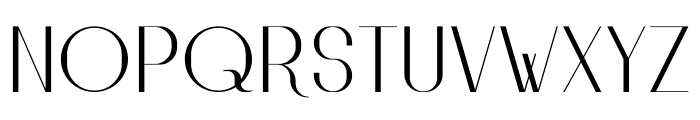 HighSociety Font UPPERCASE