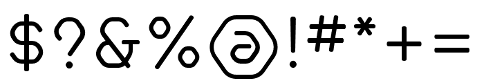 Hilux-Light Font OTHER CHARS