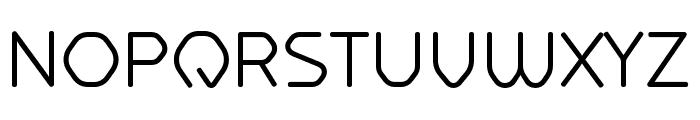 Hilux-Light Font UPPERCASE