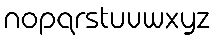Hilux-Light Font LOWERCASE