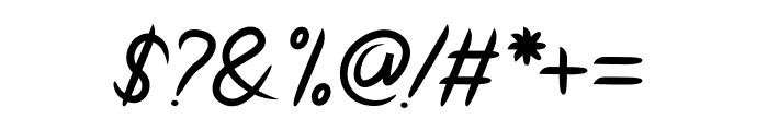 Hinetya Font OTHER CHARS