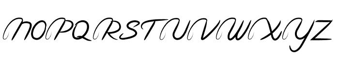 Hinetya Font UPPERCASE