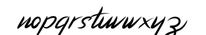 Hinetya Font LOWERCASE