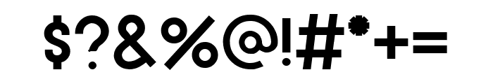 Hiyotori Bold Font OTHER CHARS