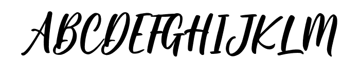 Hoffermond Font UPPERCASE