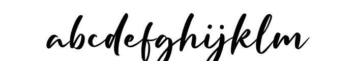 Hoffermond Font LOWERCASE