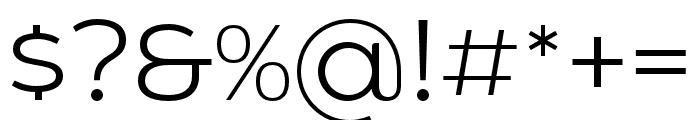 HolgadaRegular Font OTHER CHARS