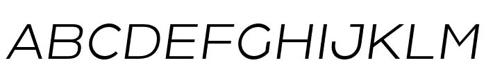 HolgadaRegularItalic Font UPPERCASE