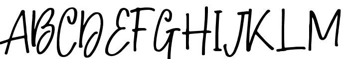 Hollybear Font UPPERCASE
