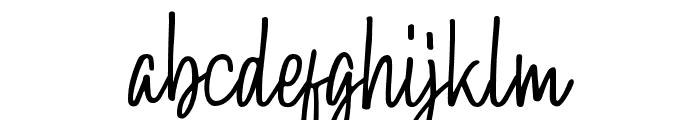 Hollybear Font LOWERCASE