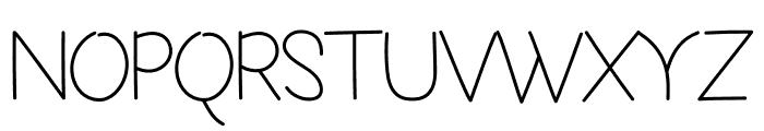 Homemini Font UPPERCASE