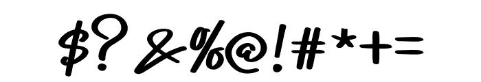 Homework Font OTHER CHARS