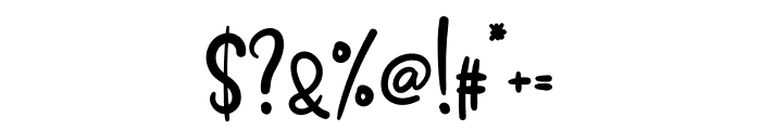 Homework1 Font OTHER CHARS