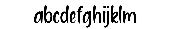 Homework1 Font LOWERCASE