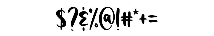 Homeworks Font OTHER CHARS