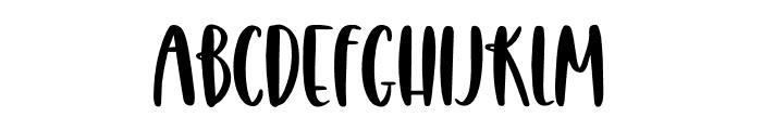 Homeworks Font LOWERCASE