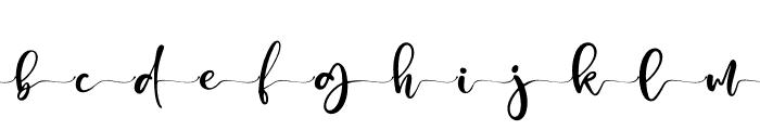Honey Sharon Alt 3 Font LOWERCASE