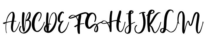 Honey Sharon Font UPPERCASE