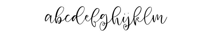 HoneyandGinger-Script Font LOWERCASE