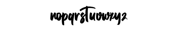 HonorableRegular Font LOWERCASE