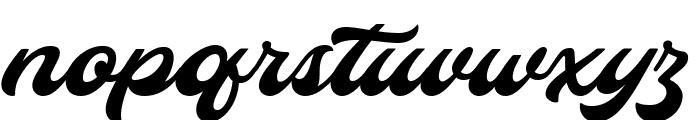 Hopeitissed Font LOWERCASE