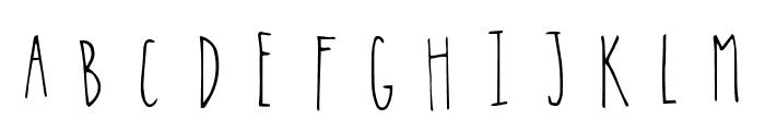 Hopscotch Regular Font UPPERCASE