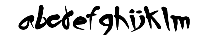 Horror House Font LOWERCASE