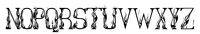 Hot Librarian Font LOWERCASE